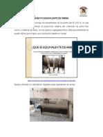 ENSAYO EQUIVALENTE DE ARENA Y PUNTO DE ABLANDAMIENTO