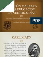 La visión marxista de la educación en nuestros