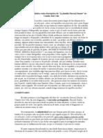 Caracterización lingüística texto descriptivo de