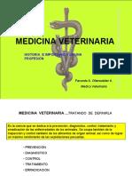 Medicina veterinaria Historia e importancia