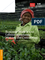 Business models & labour standards
