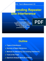 Understanding Repeater Site Interference PCC