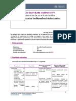 Guia de producto academico 1 Derecho Penal Económico