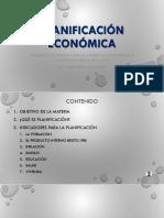 Conceptos básicos Planificación económica