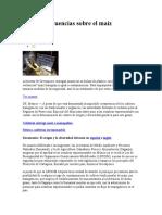 Las incongruencias sobre el maíz transgénico 9 mar 09 greenpeace.doc