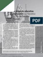 Un prpyecti educativo en Yucatán