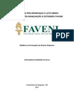 Tcc - Metodologia Do Ensino Superior-jose Marcilio Mendes Da Silva