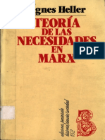 Teoría de las necesidades en Marx