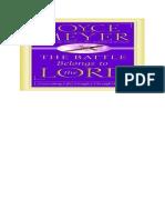 The Battle Belongs to the Lord - Joyce Meyer.en.pt.docx