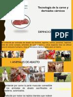 Carne definiciones legales y maduración de la carne