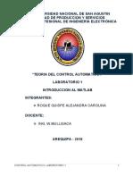 LABORATORIO1-CONTROL AUTOMATICO I