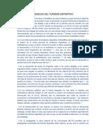 TENDENCIAS DEL TURISMO DEPORTIVO