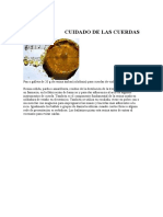VIOLIN-CUIDADO DE CUERDAS-.doc