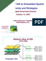 Evolution to GIS