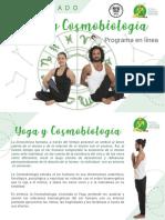Yoga cosmobiologia programa
