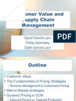 Ch 10 Customer Value and Supply Chain Management