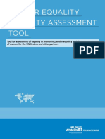 GENDER EQUALITY Capacity_AssessmentTool