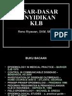 Dasar2 Penyelidikan KLB.ppt
