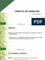 Aula 2 - Vetores e Equilíbrio de um ponto material.pdf