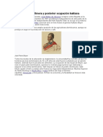 Independencia Efímera y posterior ocupación haitiana