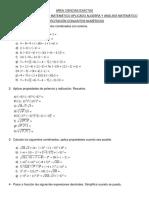 CALCULO-ANALISIS MATEMATICO APLICADO-ALGEBRA Y ANALISIS MATEMATICO (MW - EL - MQ - AE - IN - SHME)