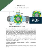 Rotary Vane Gear