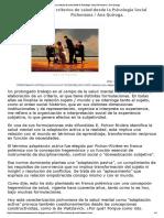 Los criterios de salud desde la Psicología Social Pichoniana - Ana Quiroga..pdf
