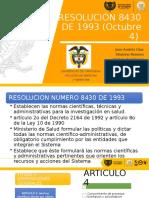 Bioética. Resolución 84 - 30