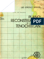 Plano Reconstructivo de la región de Tenochtitlan