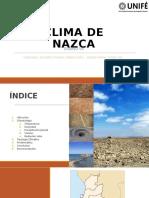 EL CLIMA DE NASCA - 2019