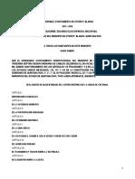 REGLAMENTO DE IMAGEN URBANA DEL CENTRO HISTORICO DE LA CIUDAD DE CHET