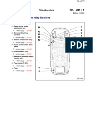 Overview of Fuses and Relay Locations   Fuse (Electrical)   Headlamp
