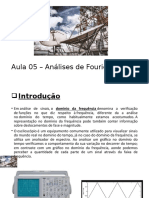 Aula 05 - Análises de Fourier.pptx