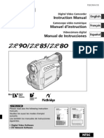 MANUAL Camcorder ZR80-90