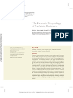 The Genomic Enzymology of Antibiotic Resistance