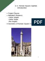 ROMAN SQUARE CAPITALS