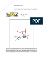 Belchite y mapa ferrocarril en la zona