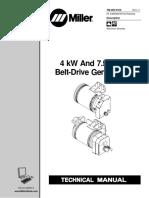 Miller-Generator-Belt-Drive 4kW-7kW