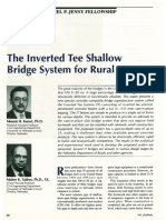 The Inverted Tee Shallow Bridge System for Rural Areas