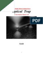 Optical Trap Guide