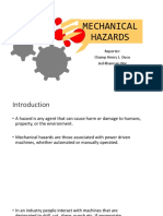 Mechanical Hazards and Safety