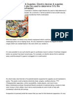 Electric Devices  Supplies Electrical devices  equipment sold in retailers could also be used to determine if its the transformer has over heated ecbij.pdf