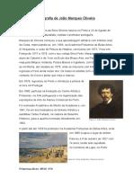 Biografia de João Marques Oliveira