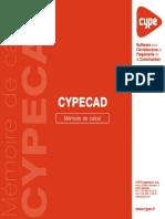 CYPECAD - Mémoire de Calcul