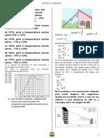 3° Bim MATRIZ DO SIMULADO 1 Ano Matemática