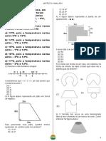 3° Bim MATRIZ DO SIMULADO 2 Ano Matemática