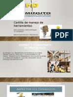 CARTILLA DE MANEJO DE MATERIALES.pptx