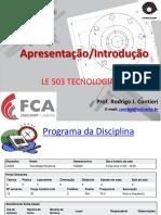 LE503- Tecnologia Mecânica - Introdução.pdf