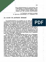 Secrétariat provisoire européen, Au secours du prolétariat allemand (Quatrième Internationale, n° 2, décembre 1943)