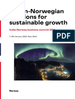 Report - Indian-Norwegian solutions for sustainable growth - program_india_eng_190102_web